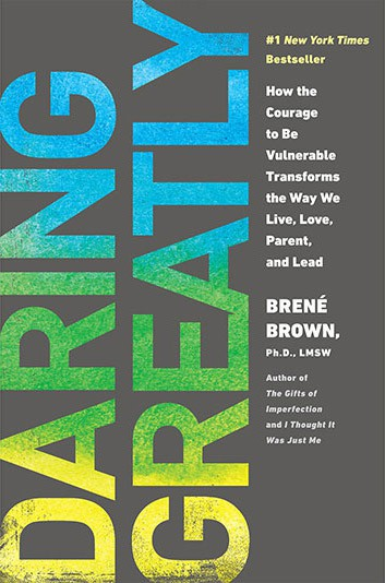 Best books on confidence building - Brene Brown - Daring Greatly
