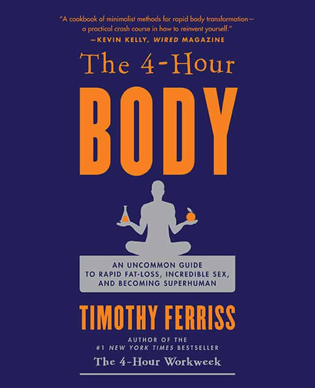 Best books on confidence building - Tim Feriss - The 4-Hour Body