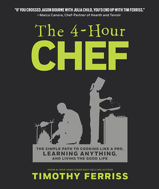 Best books on confidence building - Tim Feriss - The 4-Hour Chef