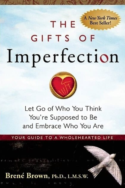 Best books on confidence building - Brene Brown - The gifts of imperfection