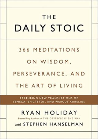 Best books on confidence building - Ryan Holiday - The daily stoic