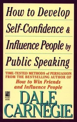 Best books on confidence building - Dale Carnegie - How to develop self-confidence & influence people by public speaking